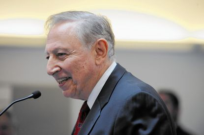 Dr. Robert Gallo, director of the Institute of Human Virology at the University of Maryland School of Medicine