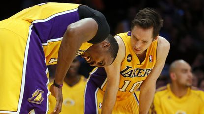 Dwight Howard and Steve Nash spent as much time in pain as on the court during their Lakers' tenure.