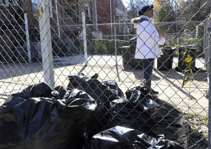 Margaret Tate, who lives on Tioga Parkway near Mondawmin Mall, is hopeful that the new wheeled trash bins the city wants to supply her neighborhood will help keep the streets cleaner.