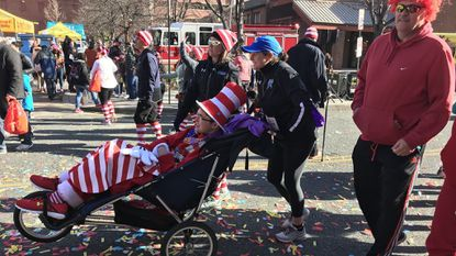 Greg Kenney, a 20-year-old who suffered cardiac arrest in 2015, is among the runners at Baltimore''s Red Shoe Shuffle, benefiting Ronald McDonald House Charities. Kenney has been recovering with help of the Kennedy Krieger Institute' and Ronald McDonald House.