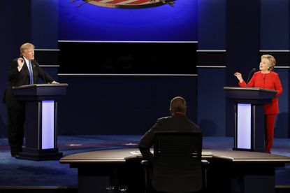 The estimated audience for first presidential debate hit 84 million, according to Nielsen numbers.