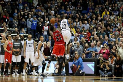 Butler's ability to draw fouls a boost to Bulls' offense