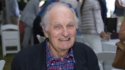 Alan Alda attends the East Hampton Library's 13th Annual Authors Night Benefit in East Hampton, N.Y. on Aug. 12, 2017.