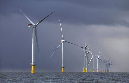 Maryland lawmakers approved subsidies from the state's electric ratepayers to help pay for development of offshore wind power projects like this one in the United Kingdom.