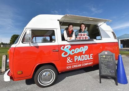 Sisters-in-law launch Scoop & Paddle retro ice cream truck