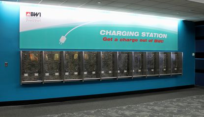 BWI charging station