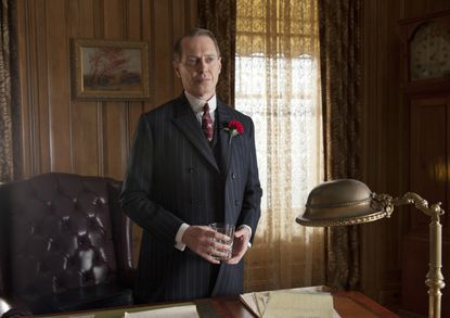 Somewhat unbelievably, Nucky Thompson (pictured) has now teamed up with Gaston Means in addition to Agent Randolph to take down Harry Daugherty, Jess Smith and George Remus.