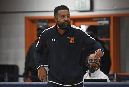 Morgan State head coach Kevin Broadus was pleased by his team's effort in Saturday's 74-69 victory over Delaware State.
