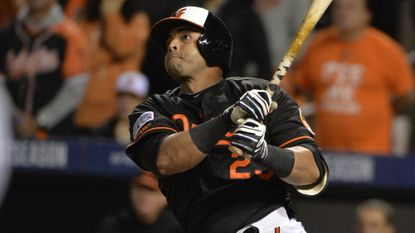 Orioles designated hitter Nelson Cruz.