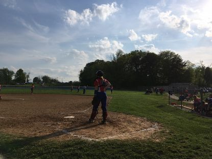 Lansdowne sophomore catcher Bri Eiser was 3-for-3 with three RBIs in the Vikings' 6-5 win over Catonsville.