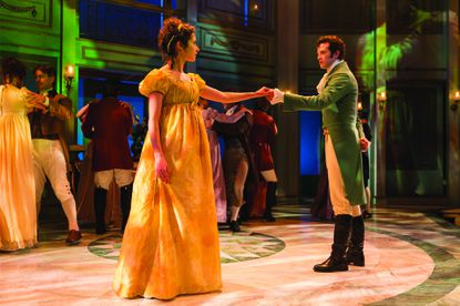 I went to 'Pride and Prejudice' at Center Stage to score points with my girlfriend and ended up liking it