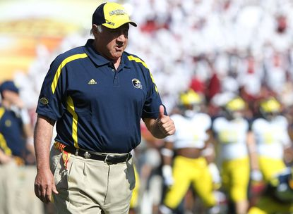 "Michigan defensive coordinator Greg Mattison said he became ""a lot more aggressive"" from his time spent coaching the Ravens' defense."