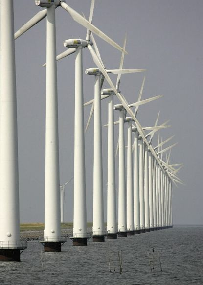 Maryand Senate President Thomas V. Mike Miller said he wants to see offshore wind get a full debate in his chamber, after bills intending to encourage construction of turbines off Ocean City died two years in a row in committee.