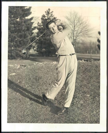 Charles Bassler Sr. showed off this swing in 1948. Four years later, the Catonsville native played in the Masters. Bassler passed away on May 20 at the age of 92.