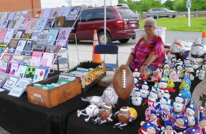 SpringFest '17 is set for May 6 at Mt. Zion United Methodist Church. This is a photo of the raffle tables at their 2016 Spring Community Day.