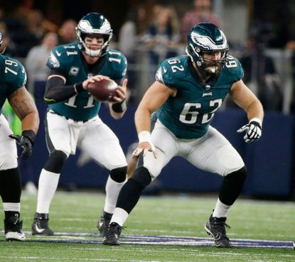 Sounds like Carson Wentz dealt with back injury for much of last season