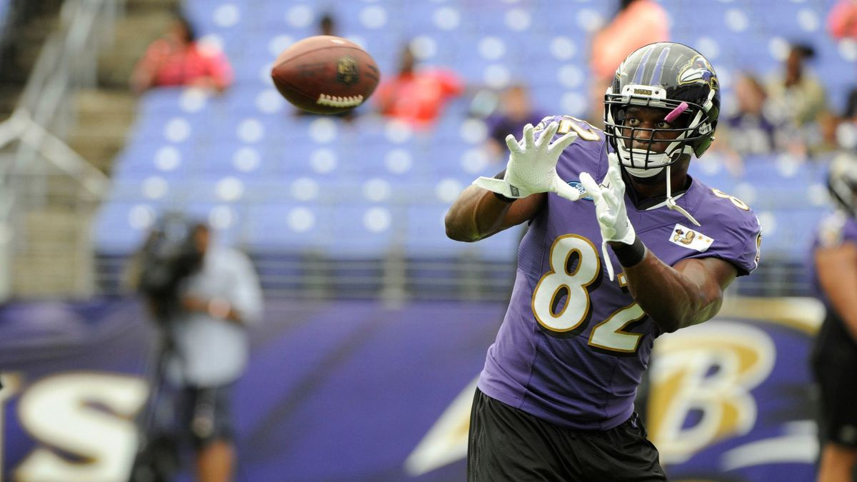 Tight end Benjamin Watson thrilled to be back on field for Ravens ...