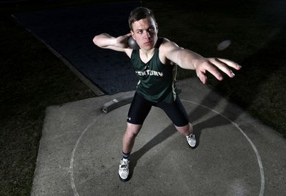 Century senior Chett Brunner is the Carroll County Times 2020 Boys Indoor Track Athlete of the Year.