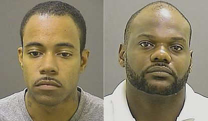 Jamar Marvin Simmons, 29, at left, and Franklin Coit, 33, at right.