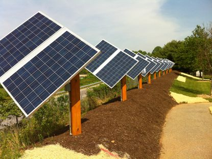 'Green' energy: New solar panels at River Hill pool will save CA money