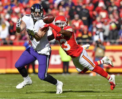 The Ravens and star tight end Mark Andrews will face Kansas City on Sunday in CBS' featured early game.