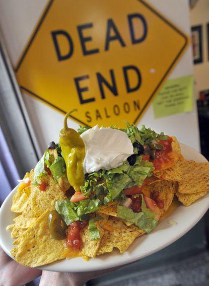 Dead End Nachos appetizer