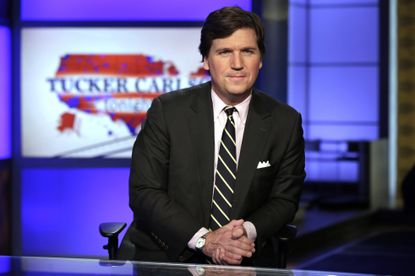 Fox News host Tucker Carlson was scheduled to perform a show in Baltimore in October, but it has been canceled.