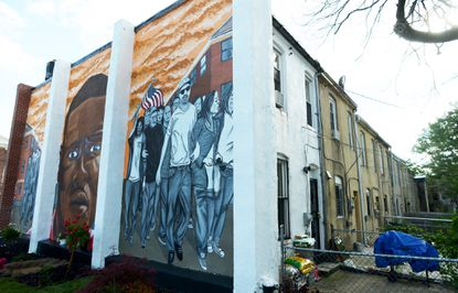 Nether's mural on Mount Street