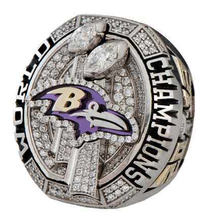Former Ravens safety Omar Brown, who was with the team for two seasons, is auctioning off his Super Bowl XLVII ring with Goldin Auctions this week.