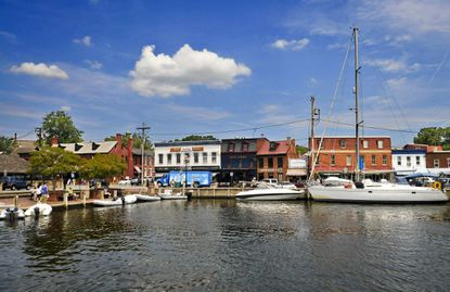 The City Dock at Annapolis, Md.