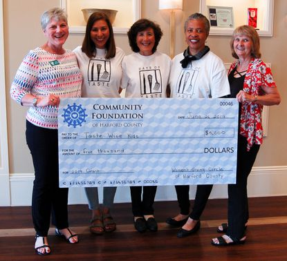 Women's Giving Circle of Harford County awards nearly $45,000 in grants in 2019