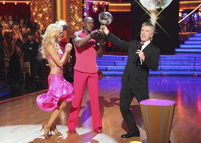 """After 10 weeks of performances, Donald Driver and Peta Murgatroyd were crowned """"Dancing with the Stars"""" champions on Tuesday night."""