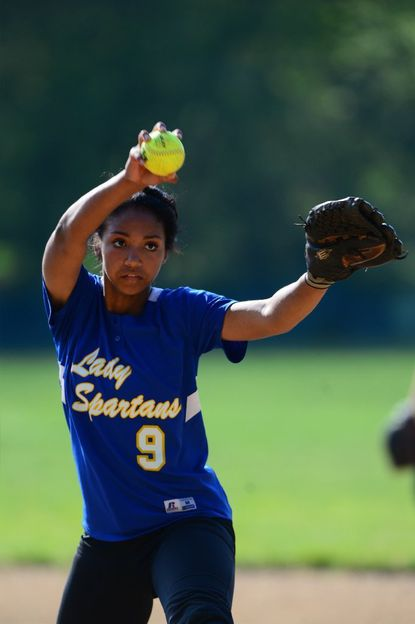Laurel senior pitcher Ashley Woodall has helped the Spartans to a 3-0 start this season. After an away game today the Spartans return home against Largo on Friday, April 8.
