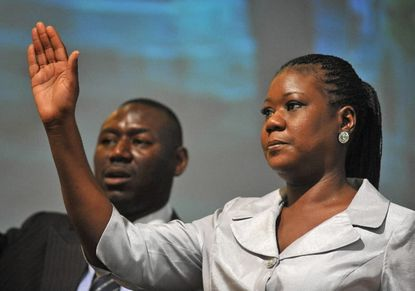 Trayvon Martin's mother speaks at Baltimore's Empowerment Temple