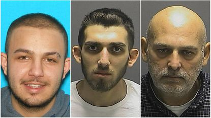 From left, Ace Frank, Spanky Frank and Paul Frank are accused of running a driveway resurfacing scheme in North Laurel. Paul Frank plead guilty to charges Nov. 4.