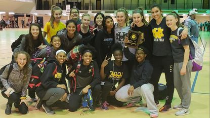 Mt. Hebron girls win indoor track and field region title; three boys teams take second