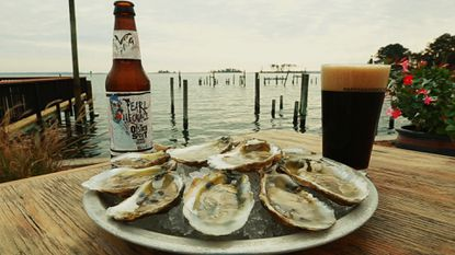 Sales of Flying Dog's Pearl Necklace Stout have led to millions of oysters being planted in the Chesapeake Bay.