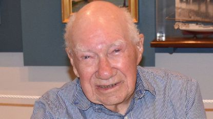 Claude D. Boycott served in the Merchant Marine during World War II, and was a longtime sail maker and volunteer with the Chesapeake Bay Maritime Museum.