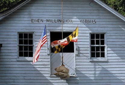 The historic grist mill at Eden Mill Nature Center and Park in northern Harford County will be closed for four months beginning this Monday, July 21, for replacement of the exterior and siding. The nature center and park grounds will remain open during the construction.