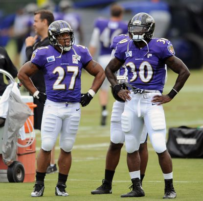 Ravens could solve 2 issues by playing Rice and Pierce together