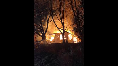 Fire marshal investigating early morning blaze at vacant house in Sykesville