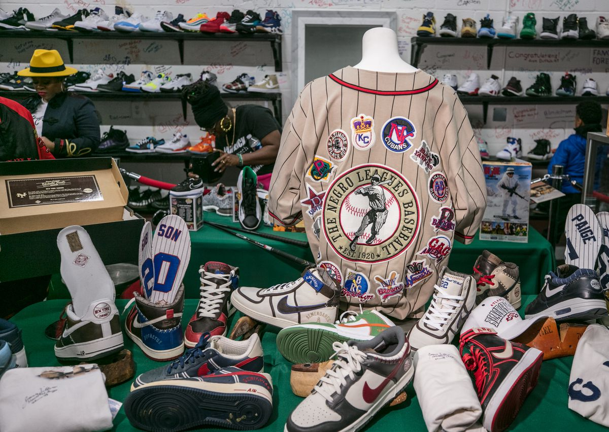 At Footage Society in Laurel, sneaker obsessives collect and connect