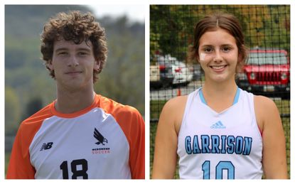 McDonogh's Jacob Murrell, right, and Garrison Forest's Dani Mendez, left are the Baltimore Sun high school Athletes of the Week (Oct. 4-9).