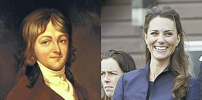 Francis Scott Key and Kate Middleton are distant relatives, according to new genealogical research.
