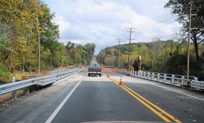 The bridge over James Run has re-opened after construction that closed the stretch of Route 7 between Routes 136 and 543 in Belcamp.
