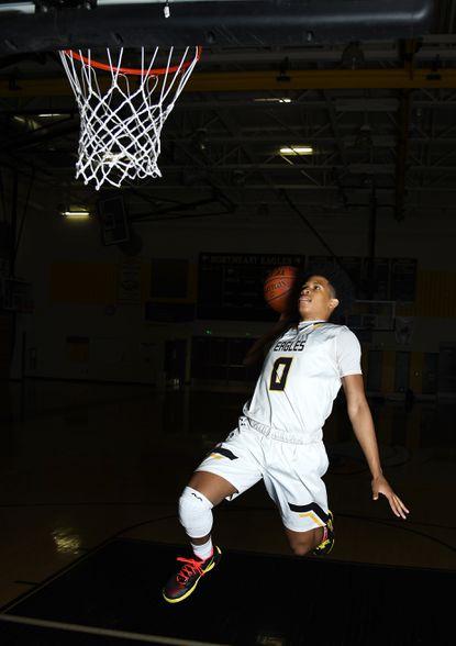 Northeast senior guard Jaylin Albury is the Capital Gazette boys basketball Player of the Year.