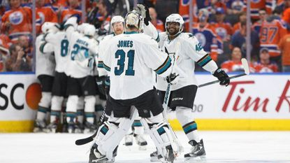 NHL: San Jose Sharks get the jump on the Edmonton Oilers in overtime