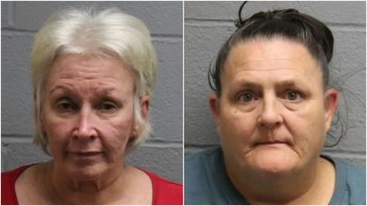 Sharon Leith Harvey, left, and Deidra Mia Johnson, right.