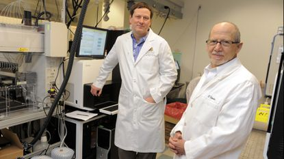Dr. Kenneth Kinzler, left, and Dr. Bert Vogelstein are among researchers at Johns Hopkins Sidney Kimmel Comprehensive Cancer Center who have worked to develop the test.