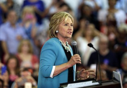 Clinton, Hogan have strong support in Md.